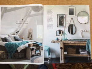 Artikel in Libelle Living over Cindy's huis.